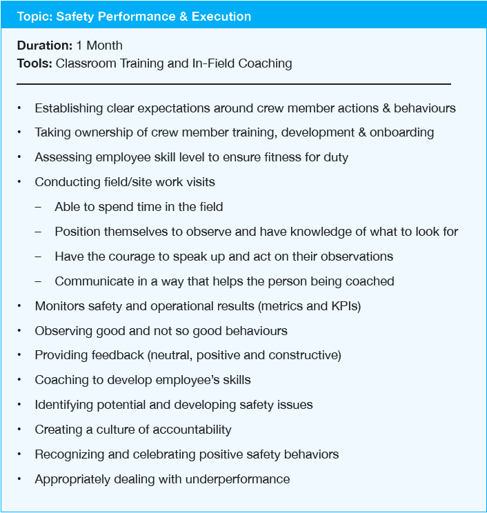 safety-performance-execution